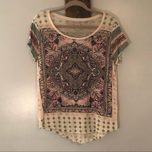 Short sleeve tee by Lucky Brand, size large